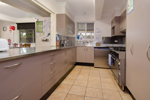 Allen Street Accommodation Kitchen