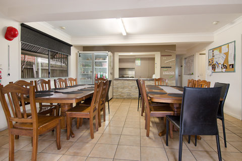 Allen Street Accommodation Kitchen & Dinning Room